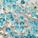 Jewel embellishment, blue, 2mm, 100 Piece, (ZSS024)